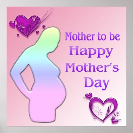 Mamá a ser poster del día de madre