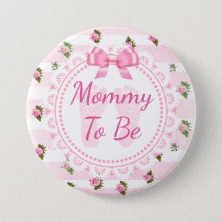 Mamá a ser rosas del rosa de botón de la fiesta de