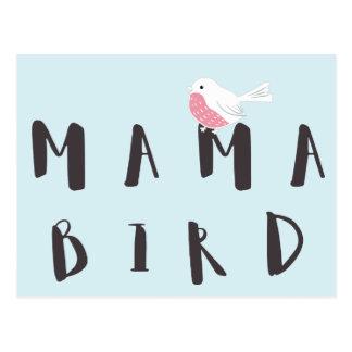 Mamá Bird - postal de la cita de la diversión