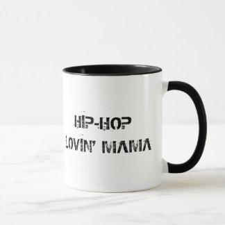 Mamá de Hip Hop Lovin (Mug) Taza