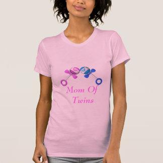 Mamá de la camisa de los gemelos (muchacho/chica)