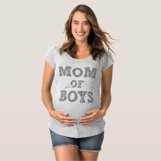 Mamá de la camiseta de la maternidad de los