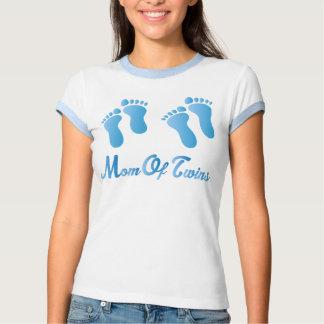 Mamá de la camiseta para mujer del campanero de