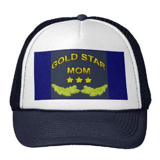 mamá de la estrella del oro gorras de camionero