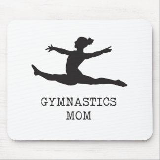 Mamá de la gimnasia alfombrilla de ratón