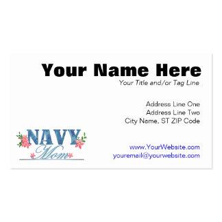 Mamá de la marina de guerra (Cammo) Tarjetas De Negocios