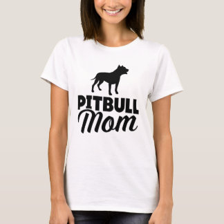 Mamá de Pitbull Camiseta