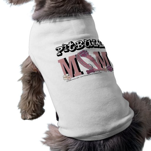 MAMÁ de Pitbull Prenda Mascota