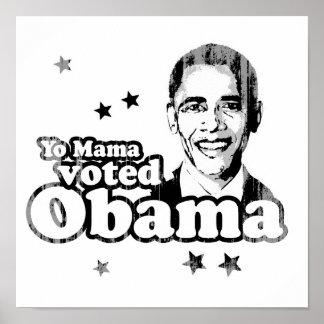 Mamá de Yo votada por Obama Faded.png Posters