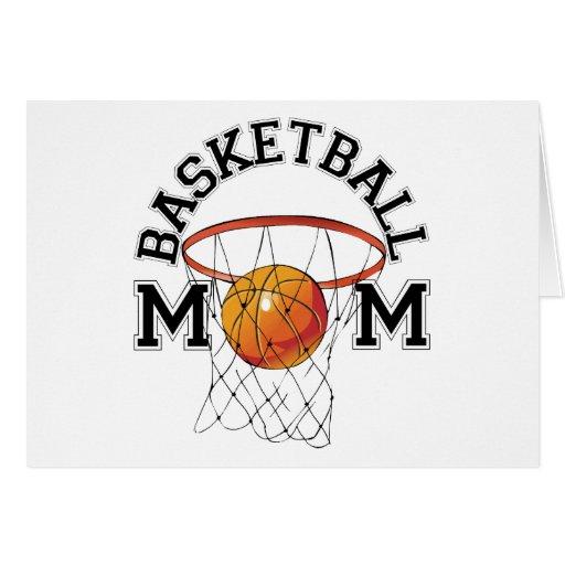 Mamá del baloncesto felicitaciones