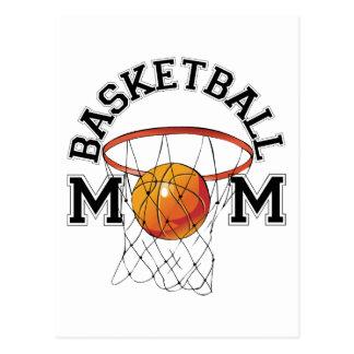 Mamá del baloncesto tarjetas postales