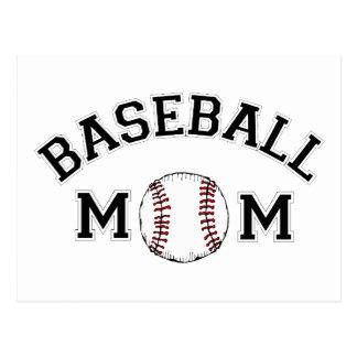 Mamá del béisbol postales