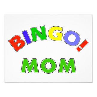 Mamá del bingo anuncios personalizados
