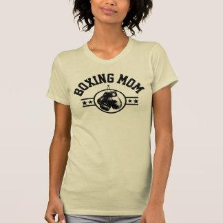 Mamá del boxeo camiseta