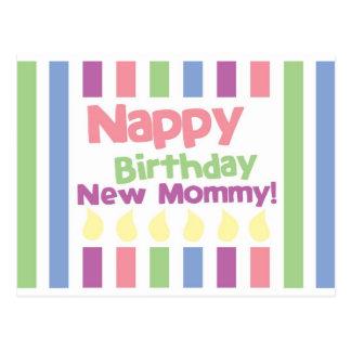 ¡Mamá del cumpleaños del panal estimada! Postal