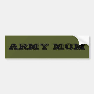 Mamá del ejército de la pegatina para el parachoqu pegatina para coche