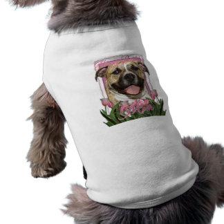 Mamá del feliz cumpleaños - Pitbull - Tigger Camisetas De Mascota