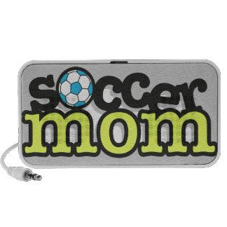 mamá del fútbol altavoz de viaje