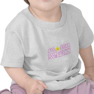 Mamá del fútbol de All Star Camisetas