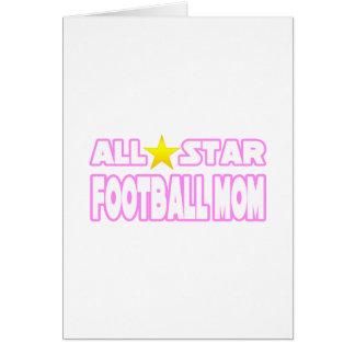Mamá del fútbol de All Star Tarjeta