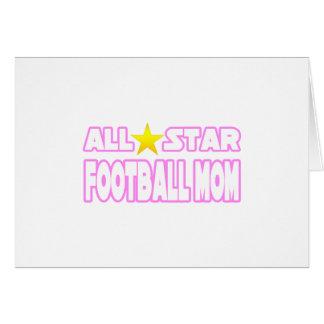 Mamá del fútbol de All Star Tarjeton