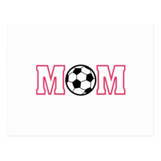 Mamá del fútbol postal
