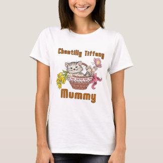 Mamá del gato de Chantilly Tiffany Camiseta
