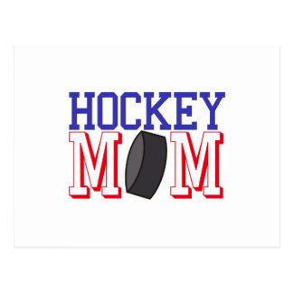 Mamá del hockey postal