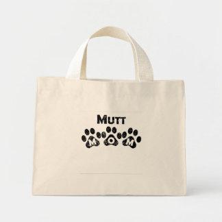Mamá del Mutt Bolsa Tela Pequeña
