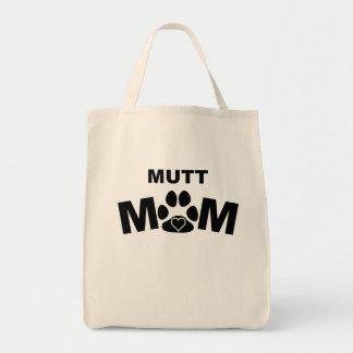 Mamá del Mutt Bolsa Tela Para La Compra