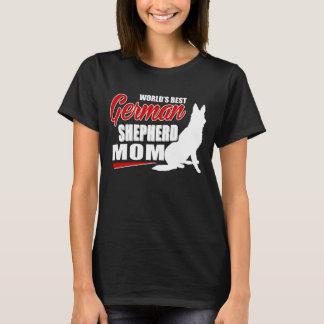 Mamá del pastor alemán camiseta