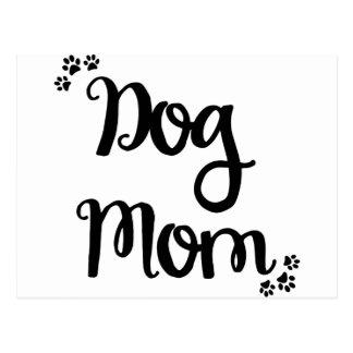 Mamá del perro postal