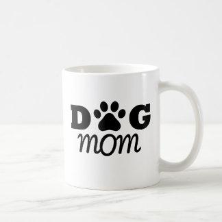 Mamá del perro taza de café