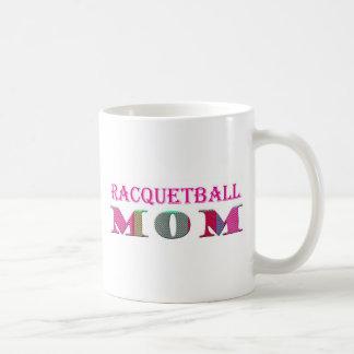 mamá del Racquetball mc03 Taza