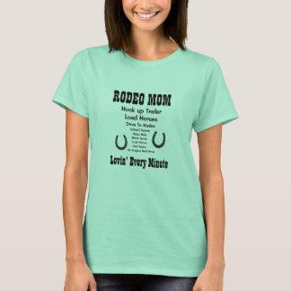 Mamá del rodeo camiseta