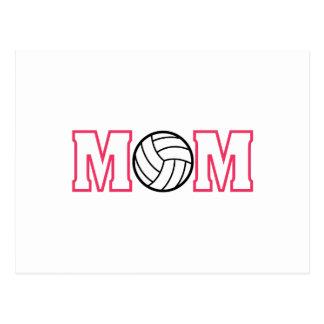Mamá del voleibol postal