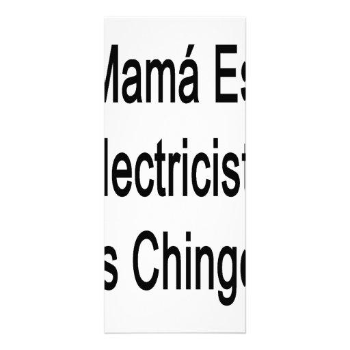 Mamá Es La Electricista Mas Chingona del MI Lona Personalizada