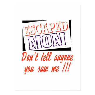 Mamá escapada postal