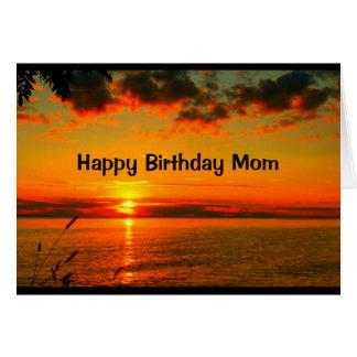 Mamá - espere que su día sea tan hermoso como tarjeta de felicitación