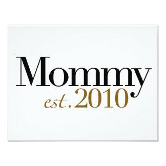 Mamá Est 2010 Invitacion Personalizada