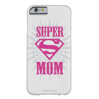Mamá estupenda Starburst Funda Para iPhone 6 Barely There