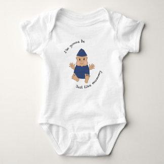 Mamá experimental body para bebé