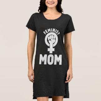 mamá feminista vestido