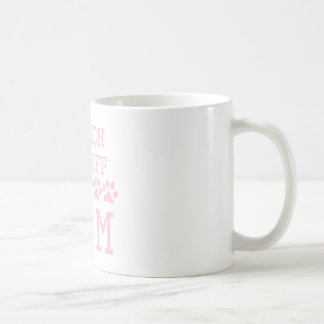 Mamá francesa del mastín taza de café