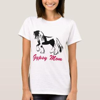 Mamá gitana del caballo camiseta