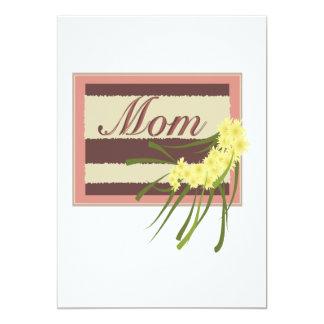Mamá Invitación 12,7 X 17,8 Cm