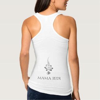 Mamá Jedi Ohm Lotus el Tank Camiseta