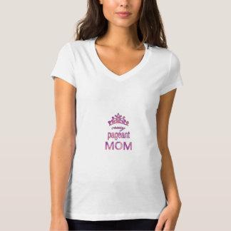 Mamá loca del desfile camiseta