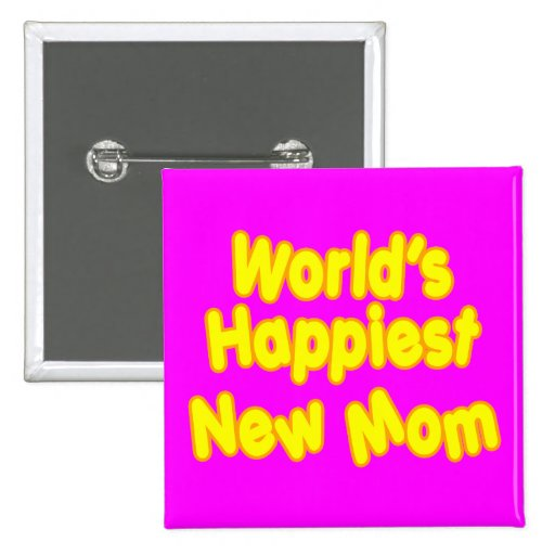 Mamá más feliz de los nuevos mundos de las mamáes  pins