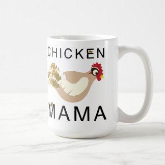 Mamá Mug del pollo Taza De Café
